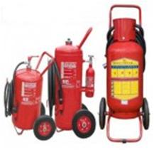 Bình bột chữa cháy xe đẩy MFTZ35